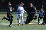 during Jordi Tornberg's New England FC Developmental Academy match against FC Boston Bolts in Mendon, MA on Saturday, November 11, 2017. CREDIT/ CHRIS ADUAMA
