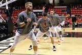 during 2015 Northeastern University Winter Showdown between Men's Basketball and Michigan State at Mathews Arena in Boston, MA on Saturday, December 19, 2015. Michigan State won 78-58. CREDIT/ CHRIS ADUAMA.
