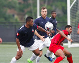 during Boston City FC and Rhode Island Reds NPSL match at Brown University Berylson Field in Providence, RI on Sunday, June 18, 2017. BCFC won 3-1. CREDIT/ CHRIS ADUAMA.