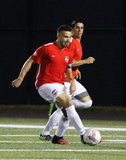 during Boston City FC and Kingston Stockade FC NPSL match at Brother Gilbert Stadium in Malden, MA on Saturday, July 8, 2017. BCFC won 2-0. CREDIT/ CHRIS ADUAMA