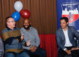 during BCFC Supporters Summit at the Tavern in the Square in Allston, MA on Monday February 26, 2018. CREDIT/ CHRIS ADUAMA