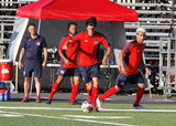 during Boston City FC and Greater Lowell NPSL match at Brother Gilbert Stadium in Malden, MA on Sunday, July 8, 2018. BCFC won 3-2. CREDIT/ CHRIS ADUAMA