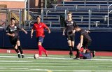 during Boston City FC and Kingston Stockade NPSL match at Harry Della Russo Stadium in Revere, MA on Sunday, June 30, 2019. BCFC won 4-2. CREDIT/ CHRIS ADUAMA