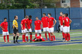 during Boston City FC and Hartford City FC NPSL match at Brother Gilbert Stadium in Malden, MA on Sunday, June 4, 2017. BCFC won 3-1. CREDIT/ CHRIS ADUAMA