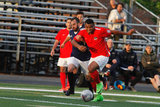 during Boston City FC and Seacoast United Mariners NPSL match at Brother Gilbert Stadium in Malden, MA on Saturday, May 27, 2017. BCFC won 6-1. CREDIT/ CHRIS ADUAMA