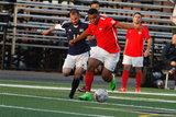 during Boston City FC and Seacoast United Mariners NPSL match at Brother Gilbert Stadium in Malden, MA on Saturday, May 27, 2017. BCFC won 6-1. CREDIT/ CHRIS ADUAMA