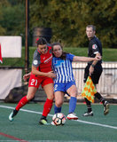 during Boston Breakers and Portland Thorns NWSL match at Jordan Field - Harvard University in Allston, MA on Sunday, September 10, 2017 Thorns won 1-0. CREDIT/ CHRIS ADUAMA