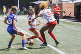 during Boston Breakers and Chicago Red Stars NWSL match at Harvard UniversityJordan Field in Allston, MA on Friday, July 7, 2017. The match ended in 0-0. CREDIT/ CHRIS ADUAMA