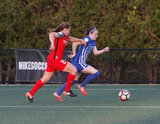 during Boston Breakers and  Portland Thorns NWSL match at Jordan Soccer Field at Harvard University in Allston, MA on Friday, May 19, 2017. The match ended 2-2. CREDIT/ CHRIS ADUAMA