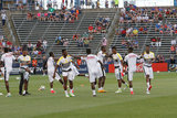 during U.S. -GHANA Mens friendly  soccer match at Rentschler Field in East Hartford, Connecticut on Saturday, July 1, 2017. U.S. won 2-1.CREDIT/ CHRIS ADUAMA