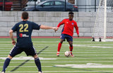 during Boston City FC 2019 NPSL Home Opener against Hartford City FC at Harry Della Russo Stadium in Revere, MA on Saturday, May 4, 2019. HCFC beat BCFC 6-0. CREDIT/ CHRIS ADUAMA