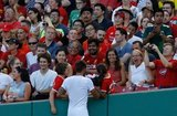 during Liverpool FC and Sevilla FC pre-season 2019 friendly football match at Fenway Park in Boston, MA on Sunday, July 21, 2019. Sevilla FC won 2-1. CREDIT/CHRIS ADUAMA