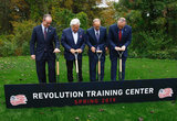 REVS BREAKS GROUND TRAINING CENTER 10-15-2018