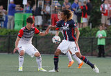 during New England Revolution and D.C. United in U.S. Open Cup round of 16 at Harvard University's Jordan Field in Allston, MA. on Wednesday, June 28, 2017. Revs won 2-1. CREDIT/ CHRIS ADUAMA