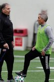 Head Coach Bruce Arena, Richie Williams -Assistant Coach during New England Revolution first 2020 Training Session at the Field House Gillette Stadium in Foxboro, MA on Monday, January 20, 2020. CREDIT/ CHRIS ADUAMA.