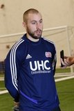Brad Knighton - GK  during New England Revolution first 2020 Training Session at the Field House Gillette Stadium in Foxboro, MA on Monday, January 20, 2020. CREDIT/ CHRIS ADUAMA.
