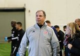Head Coach Bruce Arena during New England Revolution first 2020 Training Session at the Field House Gillette Stadium in Foxboro, MA on Monday, January 20, 2020. CREDIT/ CHRIS ADUAMA.