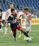 during New England Revolution II and Forward Madison FC USL 1  match on Friday, September 4, 2020 at Gillette Stadium in Foxboro, MA. Forward Madison won 4-0. CREDIT/ CHRIS ADUAMA.