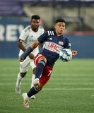 during New England Revolution II and Chattanooga Red Wolves SC USL 1  match on Wednesday, September 9, 2020 at Gillette Stadium in Foxboro, MA. Red Wolves won 2-1. CREDIT/ CHRIS ADUAMA.