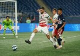 during New England Revolution II  and Richmond Kickers USL League One match on Friday, August 21, 2020 at Gillette Stadium in Foxboro, MA. The match ended in 2-1 Kickers win.  CREDIT/ CHRIS ADUAMA.