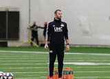 Scott Emmens -Equipment Manager during New England Revolution pre-season training in Empower Field House at Gillette Stadium in Foxboro, MA on Monday, February 11, 2019. CREDIT/ CHRIS ADUAMA