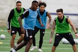 Cristian Penilla (70) during New England Revolution 2020 Pre-Season Training Session at the Field House- Gillette Stadium in Foxboro, MA on Friday, January 31, 2020. CREDIT/ CHRIS ADUAMA.