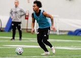 Isaac Angking (5) during New England Revolution 2020 Pre-Season Training Session at the Field House- Gillette Stadium in Foxboro, MA on Friday, January 31, 2020. CREDIT/ CHRIS ADUAMA.