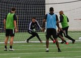 during New England Revolution 2020 Pre-Season Training Session at the Field House- Gillette Stadium in Foxboro, MA on Friday, January 31, 2020. CREDIT/ CHRIS ADUAMA.