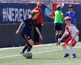 during Revs U-13 and Valencia FC match at Gillette Stadium in Foxboro, MA on Sunday, May 26, 2019. Valencia FC won 3-0. CREDIT/ CHRIS ADUAMA