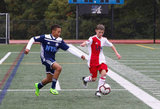 New England Revolution Academy U-13s hosted New York Soccer Club on Saturday, October 13, 2018 at Joseph P. Hanlon Field - Medway High School in Medway, MA. Revs won. CREDIT/ CHRIS ADUAMA