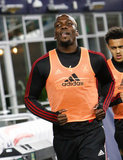 Florentin Pogba (4) during Revolution and Atlanta United FC MLS match at Gillette Stadium in Foxboro, MA on Saturday, April 13, 2019. Atlanta United won 2-0. CREDIT/ CHRIS ADUAMA