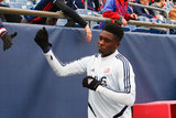 Jalil Anibaba (3) during New England Revolution and FC Cincinnati MLS match at Gillette Stadium in Foxboro, MA on Sunday, March 24, 2019. The match ended in 2-0 win for FC Cincinnati. CREDIT/ CHRIS ADUAMA