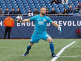 Brad Knighton - GK during New England Revolution and FC Cincinnati MLS match at Gillette Stadium in Foxboro, MA on Sunday, March 24, 2019. The match ended in 2-0 win for FC Cincinnati. CREDIT/ CHRIS ADUAMA