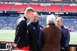 during New England Revolution Home Opener of their 25 MLS Season match against Chicago Fire FC at Gillette Stadium in Foxboro, MA on Saturday, March 7, 2020. The match ended in 1-1 tie. CREDIT/ CHRIS ADUAMA.