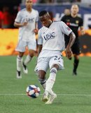 Luis Caicedo (27) during New England Revolution and Los Angeles Football Club MLS match at Gillette Stadium in Foxboro, MA on Saturday, August 3, 2019. LAFC won 2-0. CREDIT/CHRIS ADUAMA