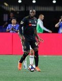Adama Diomande (99) during New England Revolution and Los Angeles Football Club MLS match at Gillette Stadium in Foxboro, MA on Saturday, August 3, 2019. LAFC won 2-0. CREDIT/CHRIS ADUAMA