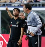 Lee Nguyen (24) during New England Revolution and Los Angeles Football Club MLS match at Gillette Stadium in Foxboro, MA on Saturday, August 3, 2019. LAFC won 2-0. CREDIT/CHRIS ADUAMA
