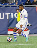 Anthony Jackson-Hamel (11) during New England Revolution and Montreal Impact MLS match at Gillete Stadium in Foxboro, MA on Wednesday, April 24, 2019. Montreal beat Revs 3-0. CREDIT/ CHRIS ADUAMA