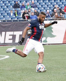 Andrew Farrell (2) during New England Revolution and Minnesota FC MLS match at Gillette Stadium in Foxboro, MA on Saturday, March 25, 2017. Revs won 5-2. CREDIT/ CHRIS ADUAMA