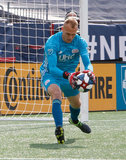 Cody Cropper (1) during New England Revolution and Minnesota United FC MLS match at Gillette Stadium in Foxboro, MA on Saturday, March 30, 2019. Revs won 2-1. CREDIT/ CHRIS ADUAMA