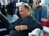 Coach Bruce Arena during New England Revolution and New York City Football Club MLS match at Gillette Stadium in Foxboro, MA on Sunday, September 29, 2019. Revs won 2-0. CREDIT/CHRIS ADUAMA.