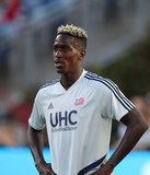 Wilfried Zahibo (23) during New England Revolution and New York City Football Club MLS match at Gillette Stadium in Foxboro, MA on Sunday, September 29, 2019. Revs won 2-0. CREDIT/CHRIS ADUAMA.
