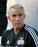 Richie Williams - Assistant Coach during New England Revolution and Philadelphia Union MLS match at Gillette Stadium in Foxboro, MA on Wednesday, June 26, 2019. The match ended in 1-1 tie. CREDIT/CHRIS ADUAMA