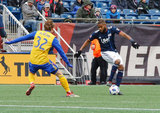 Andrew Farrell (2) during New England Revolution's 2018 MLS Home Opener with Colorado Rapids at Gillette Stadium in Foxboro, MA on Saturday, March 10, 2018.Revs won 2-1.CREDIT/ CHRIS ADUAMA