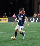 Carles Gil (22) during New England Revolution and Real Salt Lake MLS match at Gillette Stadium in Foxboro, MA on Saturday, September 21, 2019. The match ended 0-0 tie. CREDIT/CHRIS ADUAMA.