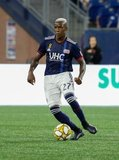Luis Caicedo (27) during New England Revolution and Real Salt Lake MLS match at Gillette Stadium in Foxboro, MA on Saturday, September 21, 2019. The match ended 0-0 tie. CREDIT/CHRIS ADUAMA.