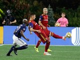 Damir Kreilach (8) during New England Revolution and Real Salt Lake MLS match at Gillette Stadium in Foxboro, MA on Saturday, September 21, 2019. The match ended 0-0 tie. CREDIT/CHRIS ADUAMA.