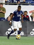 Cristian Penilla (70) during New England Revolution and Real Salt Lake MLS match at Gillette Stadium in Foxboro, MA on Saturday, September 21, 2019. The match ended 0-0 tie. CREDIT/CHRIS ADUAMA.