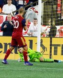Andrew Putna (51)-GK during New England Revolution and Real Salt Lake MLS match at Gillette Stadium in Foxboro, MA on Saturday, September 21, 2019. The match ended 0-0 tie. CREDIT/CHRIS ADUAMA.