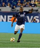 Andrew Farrell (2) during New England Revolution and Toronto FC MLS match at Gillette Stadium in Foxboro, MA on Saturday, August 31, 2019. The match ended in 1-1 tie. CREDIT/ CHRIS ADUAMA